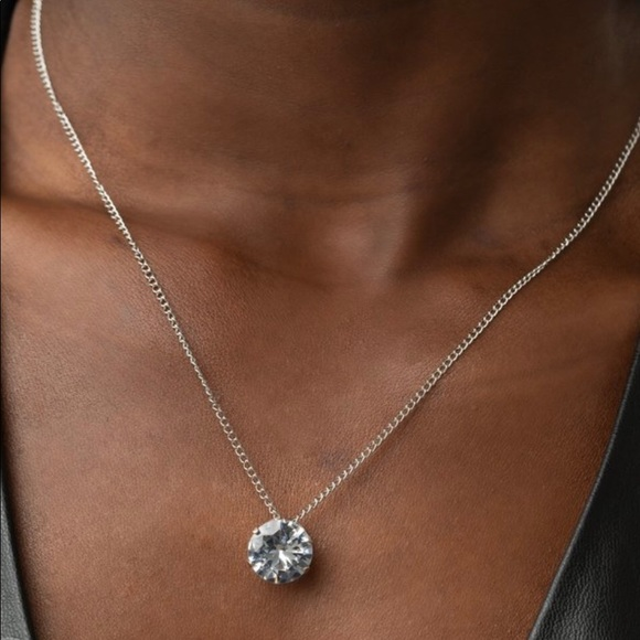 4 for $20 diamond stone necklace